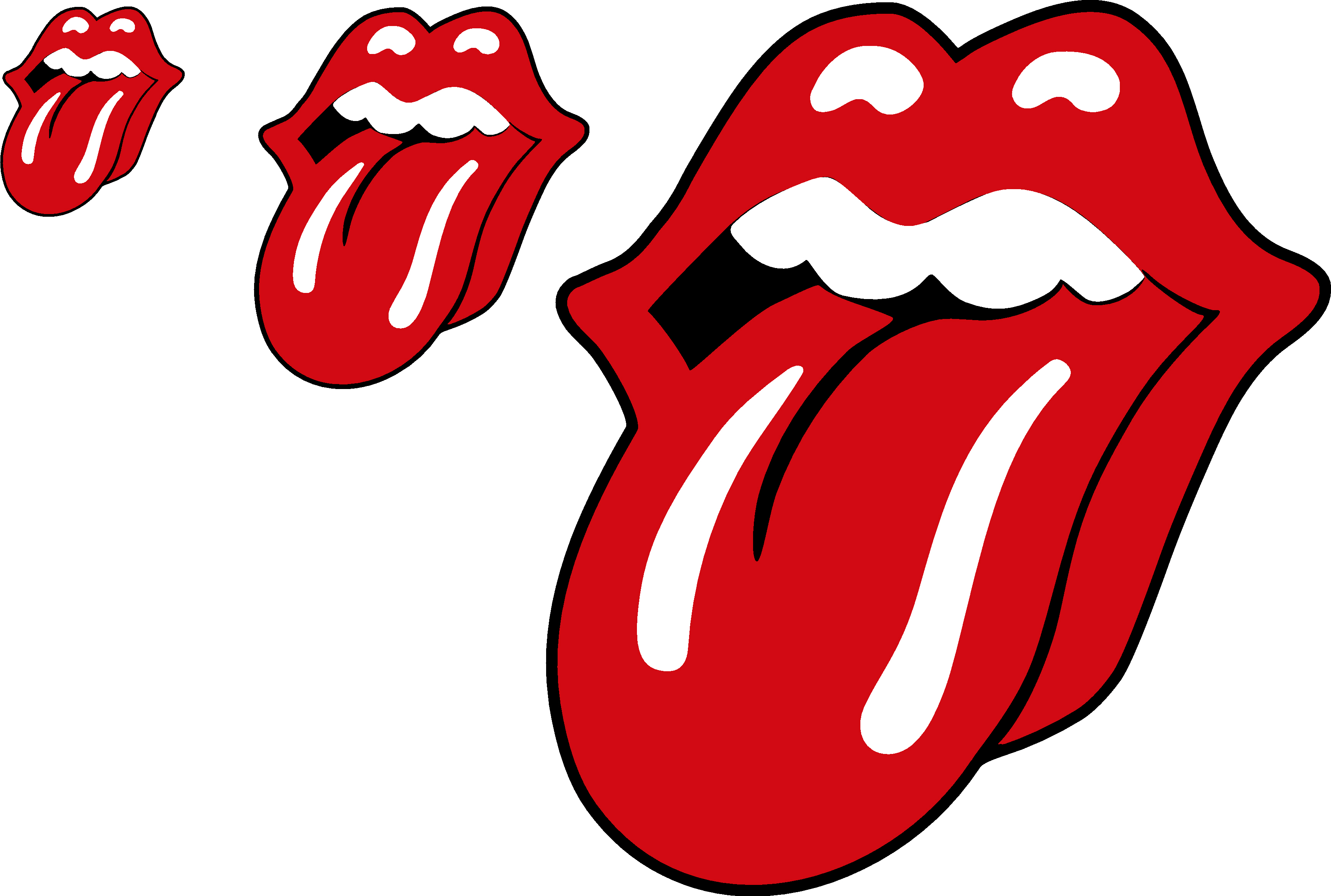 Rolling Stones Tongue Decal Kamos Sticker