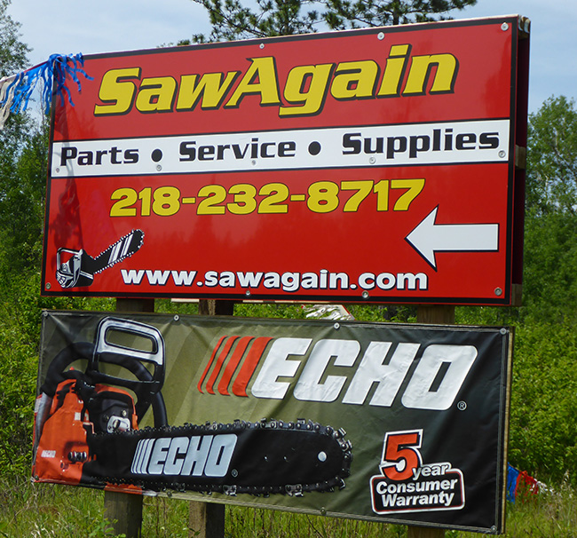 Outdoor Sign Plus Banner