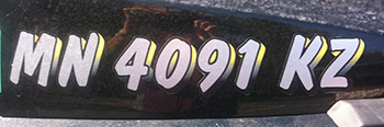 Registration Numbers