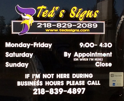 Custom decals can heighten your business and product appearance to potential customers with news of promotions sales store hours new inventory